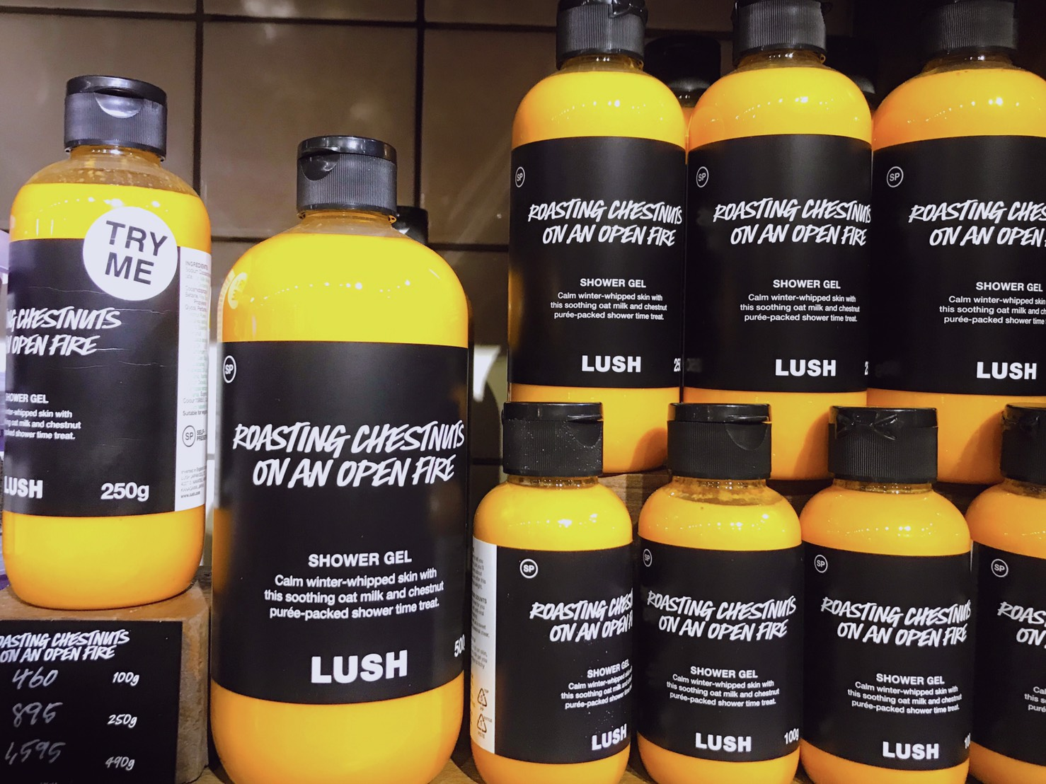 LUSH SHOWER GEL 05